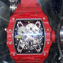 Richard Mille Koolstof 49.9mm Automatisch RM35-02 FQ tweedehands