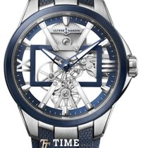 Ulysse Nardin Titanium 42mm Manual winding 3713-260-3/03 new
