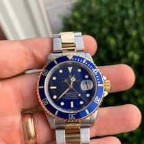 Rolex Submariner Date Gold/Steel 40mm Blue No numerals United States of America, Tennesse, Franklin