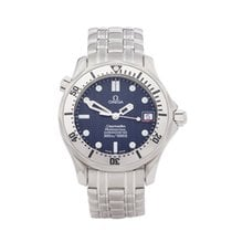 Omega Seamaster Diver 300 M pre-owned 36mm Blue Steel