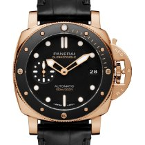 Panerai Roséguld Automatisk ny Luminor Submersible