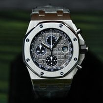 Audemars Piguet Royal Oak Offshore Chronograph Staal 42mm Grijs Arabisch Nederland, Woerden