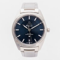 Omega Globemaster Steel 39mm Blue No numerals United Kingdom, Guildford,Surrey