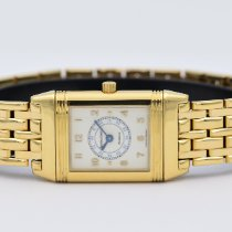 Jaeger-LeCoultre Reverso Lady Yellow gold 19mm White Arabic numerals