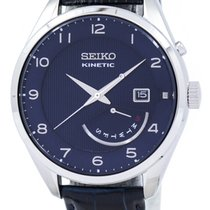 Seiko Kinetic Steel 42mm Blue