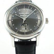 Maurice Lacroix Les Classiques Phases de Lune Stahl 42mm Grau Arabisch