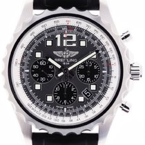 Breitling Chronospace Automatic neu 2011 Automatik Chronograph Uhr mit Original-Box und Original-Papieren A23360 35 / F555