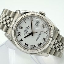 Rolex Datejust Steel 36mm White United States of America, California, Marina Del Rey