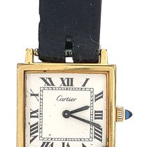 Cartier Tank Louis Cartier Yellow gold 22mm White United States of America, New York, NY