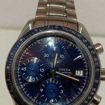 Omega Speedmaster Date Ocel Modrá