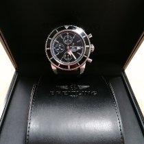 Breitling Superocean Héritage Chronograph Acier 46mm Noir Sans chiffres France, ARCUEIL