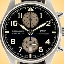 IWC IW3878-06 Steel Pilot Spitfire Chronograph 43mm pre-owned United States of America, Illinois, Northfield