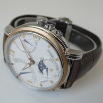 Maurice Lacroix Gold/Steel 43,5mm Manual winding MP7078-P5101-120 pre-owned