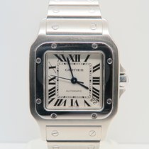 Cartier Santos Galbée XL 32mm Stainless Steel (Box&Papers)
