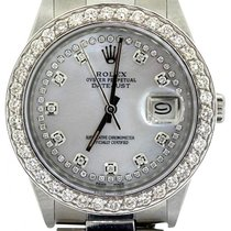 Rolex Datejust Midsize 31mm White Mother Of Pearl Dial...
