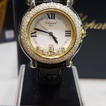 Chopard happy diamonds gold/steel