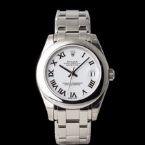 Rolex Lady-Datejust Pearlmaster White gold 34mm White