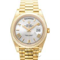 Rolex Day-Date 40 neu Automatik Uhr mit Original-Box und Original-Papieren 228238