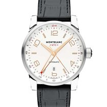 Montblanc 109136 Timewalker Voyager UTC 42mm Automatic in...