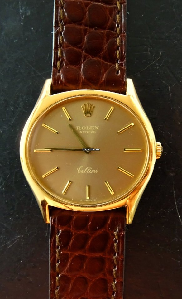 Rolex Cellini 32 mm Yellow Gold 18K 750 Vintage Luxury Watch
