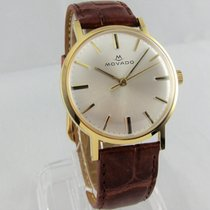 Movado Vintage 18K Gold Dress Watch