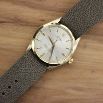 Rolex Oyster Perpetual 34mm 14kt yellow gold Circa 1963. Ref 1002