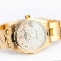 Rolex Ladies' Oyster Perpetual Datejust 18k gold/Box