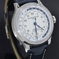Baume & Mercier Capeland Steel 44mm White Arabic numerals