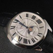 Cartier Drive de Cartier Moonphase Automatic Black Leather Watch