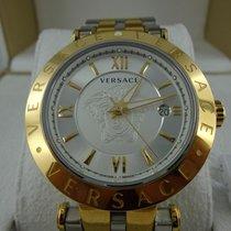 Versace vcl 12613300098 Stahl/Gold V-Race