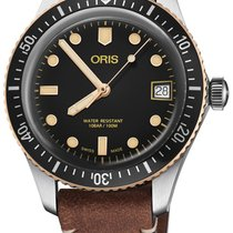 Oris Divers Sixty Five Steel 36mm Black United States of America, New York, Airmont