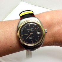 Longines Admiral pre-owned Gold/Steel