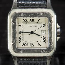 Cartier Santos Galbée Automatic 2319 Original Leather Strap