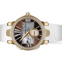 Ulysse Nardin Executive Dual Time Lady Rose gold 40mm Mother of pearl Roman numerals United States of America, Florida, Aventura