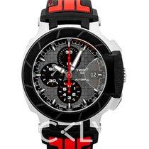 天梭 Tissot T-Race Motogp Chronograph Automatic Grey Dial Black a