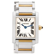 Cartier w51007q4 Steel 2000 Tank Française 20mm pre-owned United States of America, Florida, Surfside