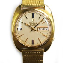 Bulova Yellow gold 38mm Automatic pre-owned
