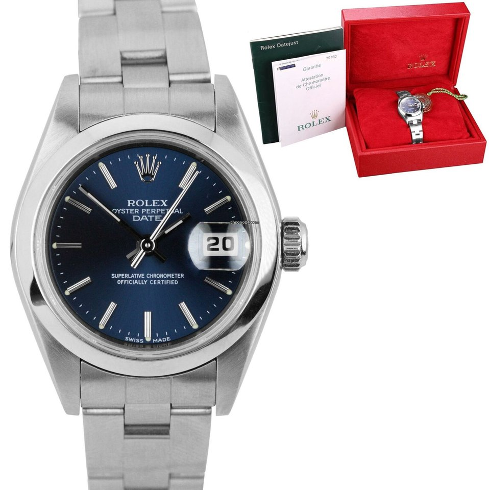 2ecba330e9343 Rolex Oyster Perpetual Lady Date - all prices for Rolex Oyster Perpetual Lady  Date watches on Chrono24