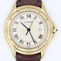Cartier Κίτρινο χρυσό 34mm Χαλαζίας 887920 μεταχειρισμένο