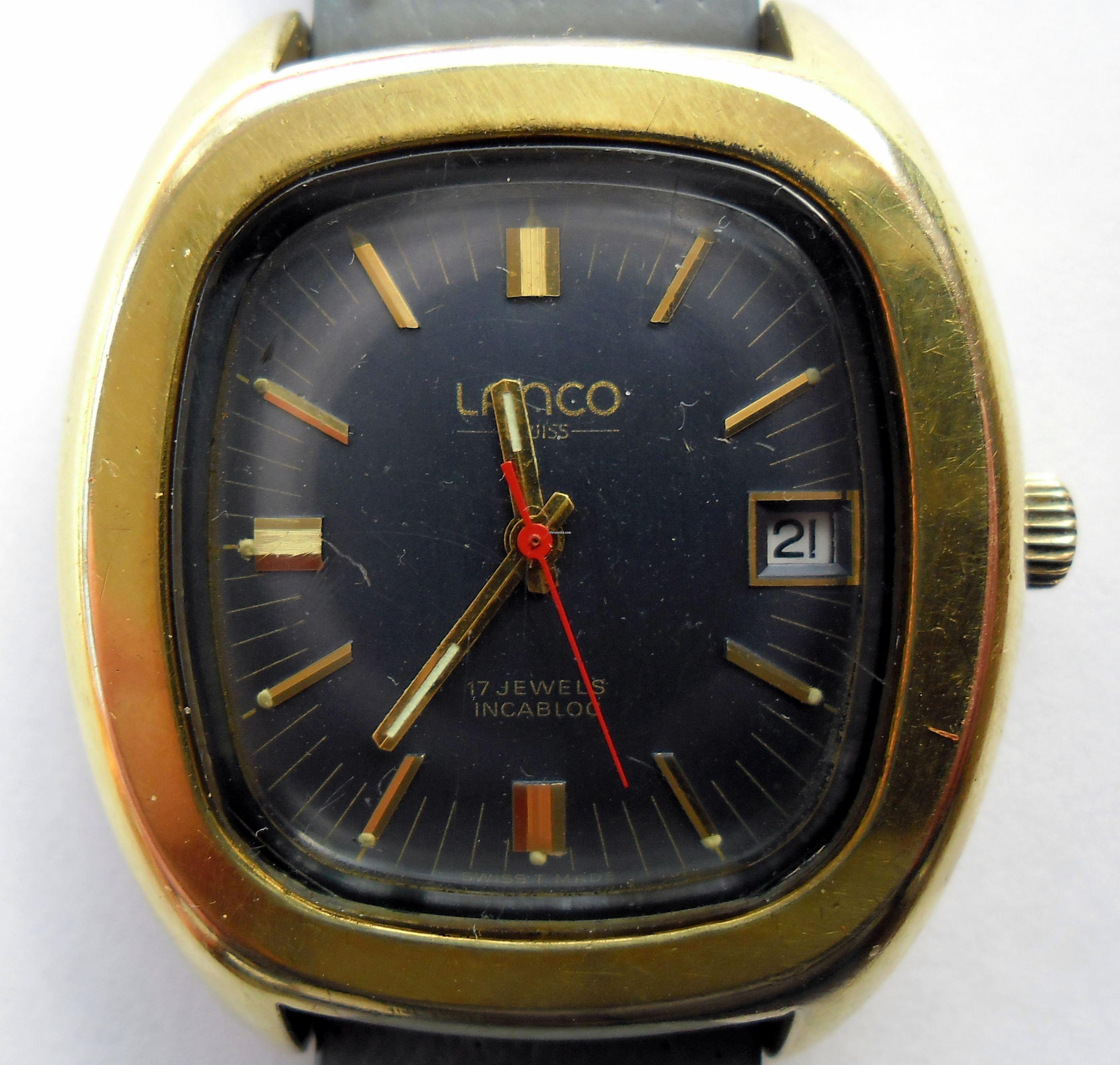 lanco uhr gold