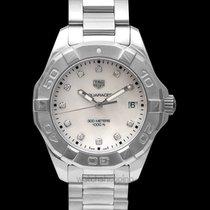 TAG Heuer Aquaracer Lady new Quartz Watch with original box and original papers WBD131B.BA0748