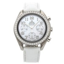 Omega Speedmaster Ladies Chronograph Steel 35.5mm Mother of pearl Arabic numerals