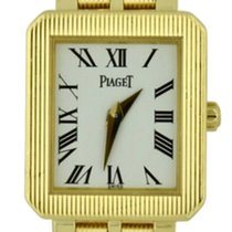 Piaget Protocole Yellow gold 20mm White Roman numerals United States of America, Georgia, Atlanta
