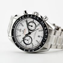 Omega Speedmaster Racing Steel White No numerals United States of America, New Jersey, Oradell