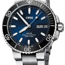 Oris Steel Automatic Blue 45.5mm new Hammerhead Limited Edition