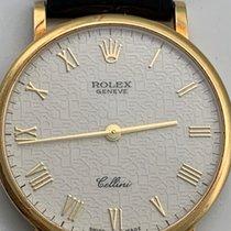 Rolex Cellini Zuto zlato 32mm Bjel