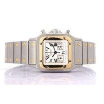 Cartier Santos Galbée Acero y oro