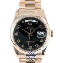 Rolex 118205F Or rose 2014 Day-Date 36 occasion