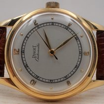 Piaget 8177 Very good Yellow gold 34mm Automatic