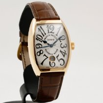 Franck Muller new Automatic 35mm Rose gold Sapphire crystal